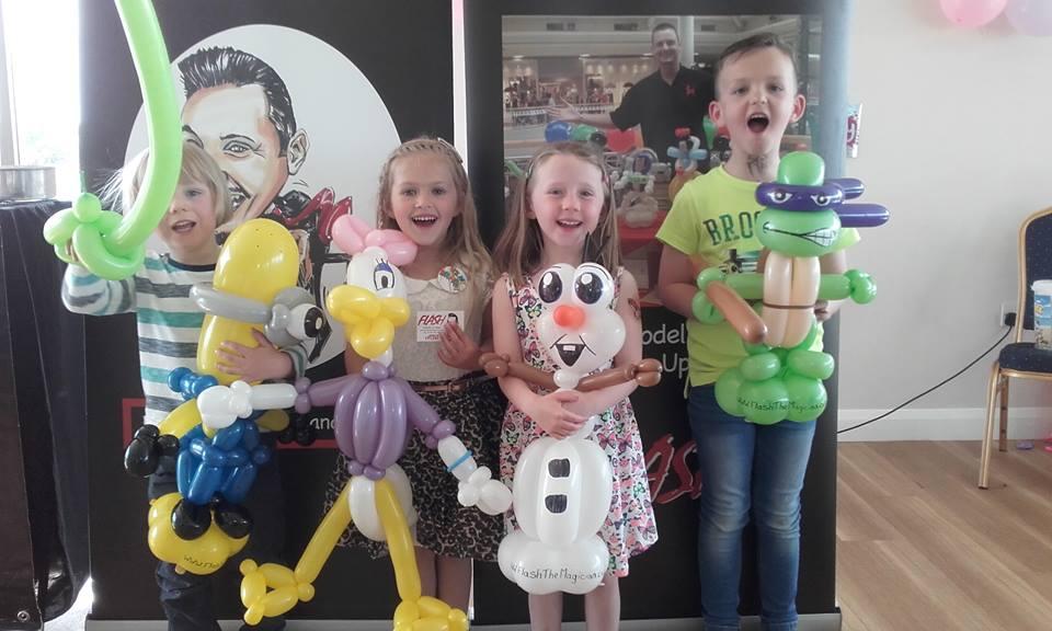 Flash - Comedy & Magic Magician North east Newcastle upon Tyne Magic Illusion Magicians Kids Wedding Comedy