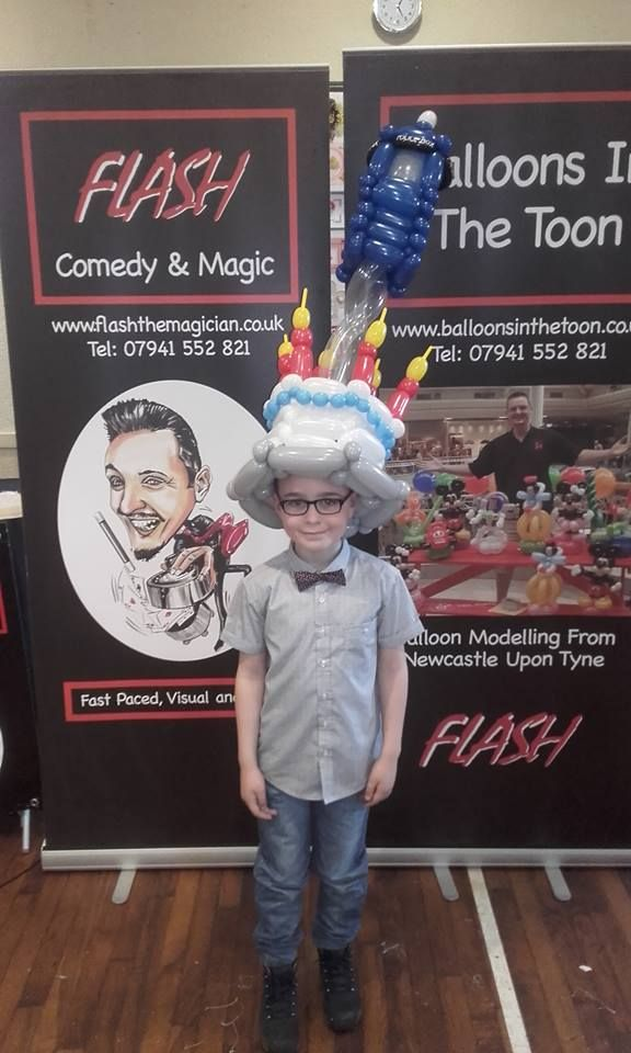 Flash - Comedy & Magic Magician North east Newcastle upon Tyne Magic Illusion Magicians Kids Wedding Comedy